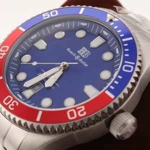 Buech & Boilat Thresher Men's Swiss Diver Watch